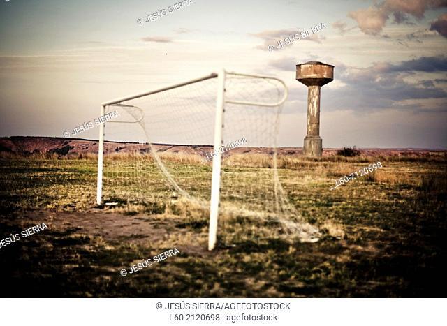 Football, Medinaceli, Soria, Castilla y León, Spain