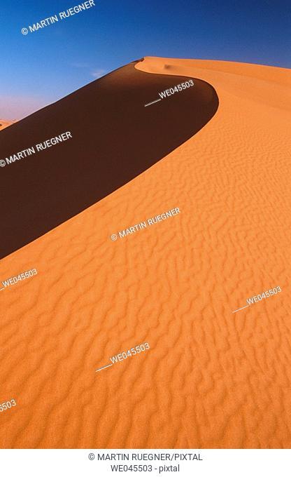 Grand Erg Oriental, Sahara. Algeria