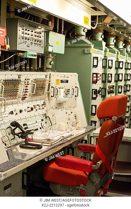 Cooperstown, North Dakota - The Ronald Reagan Minuteman Missile State Historic Site, a deactivated underground launch control facility that controlled 10...