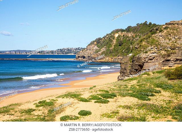 Turimetta beach is one of Sydney's famous northern beaches, Australia