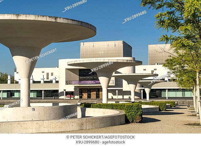 Staatstheater Darmstadt / Darmstadt State Theatre, Hesse, Germany, Europe