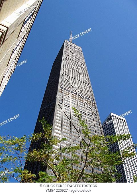 John Hancock Building in Chicago, Illinois, USA