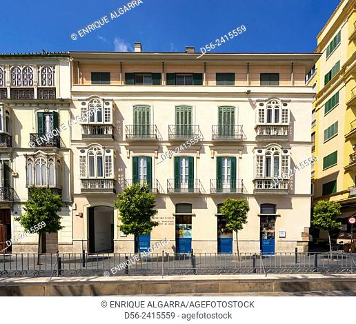 Fundación Picasso, Merced Square, Malaga, Andalucia, Spain