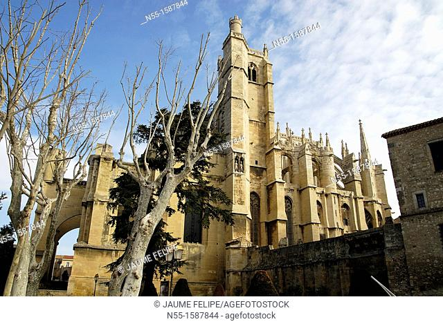Cathedral of Narbonne, XIV Century, Narbonne, Aude, Languedoc-Roussillon, France