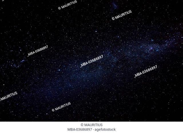 Milky Way, southern spangled sky