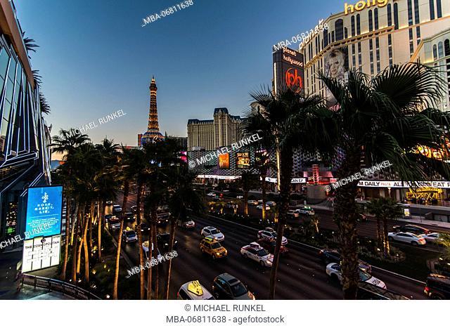 Overlook over the strip, Las Vegas, Nevada, USA