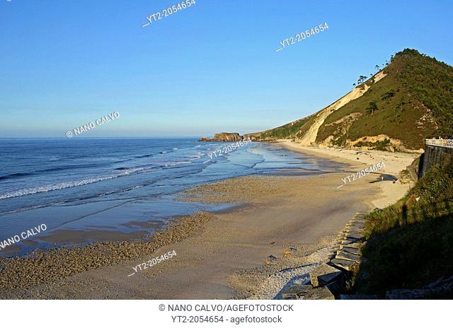 San Antolin beach in Llanes, Asturias