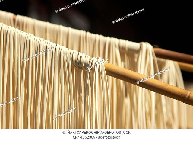 Air drying Noodles, Weishan, Dali Bai Autonomous Prefecture, Yunnan, China