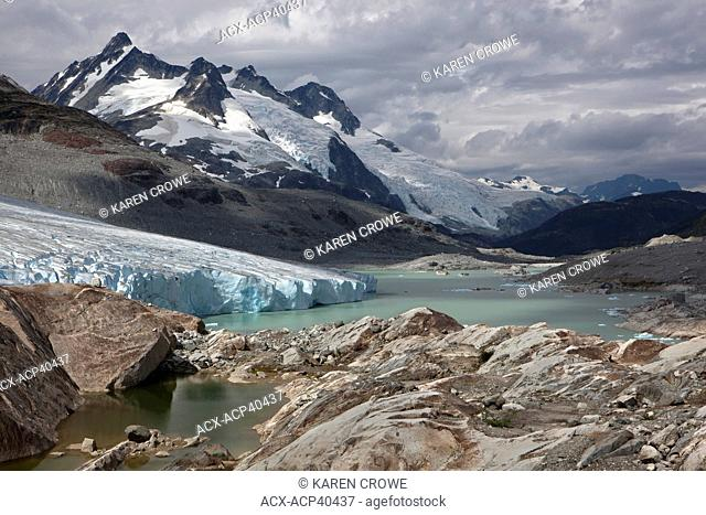 Fyles Glacier and BC Coast Mountains, British Columbia, Canada