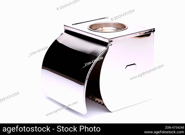 Tissue metal box without toilet paper