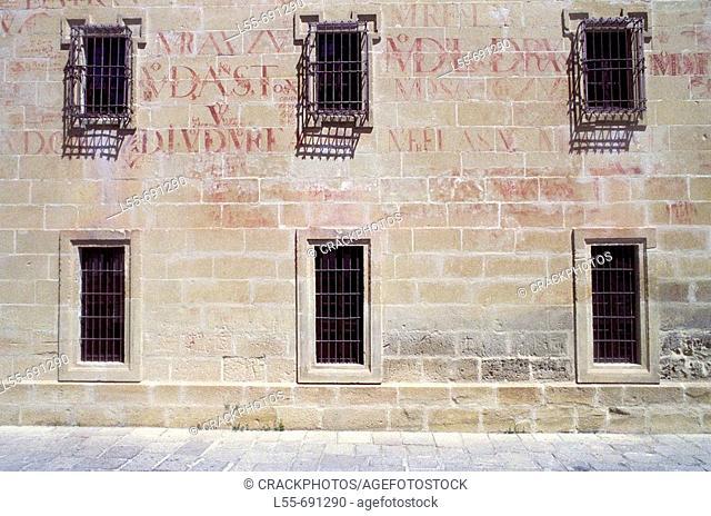 Seminario de San Felipe Neri, Baeza. Jaen province, Andalucia, Spain
