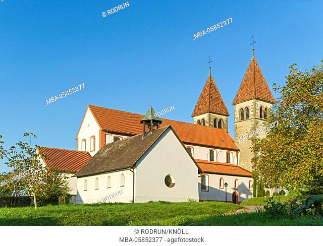 Germany, Baden-Wurttemberg, Reichenau - Niederzell, church St. Peter and Paul, south page