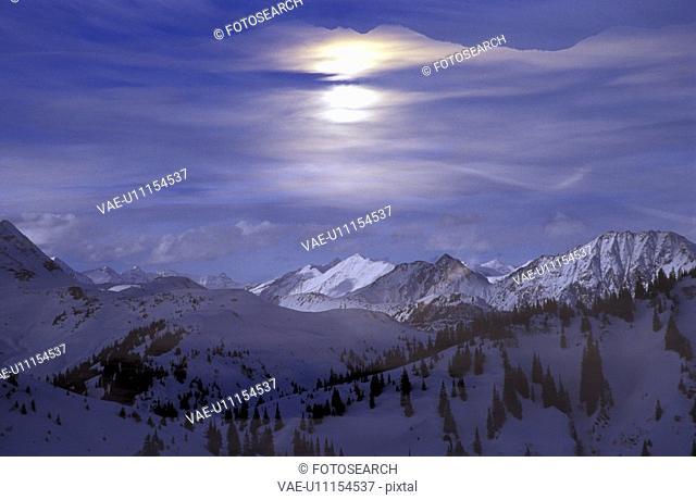 blue, idyllic, day, dawn, aichner