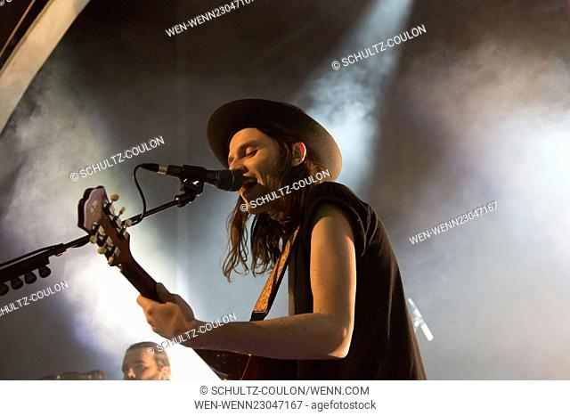 Energy Live Session with James Bay at Mojo Club Featuring: James Bay Where: Hamburg, Germany When: 20 Oct 2015 Credit: Schultz-Coulon/WENN.com