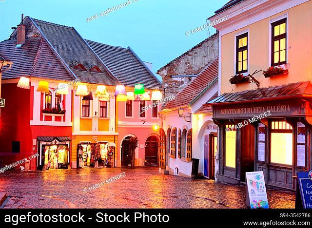 Fo Ter square in Szetendre, Hungary