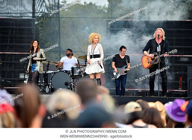 1st annual Kiss 99.9 Chilli Cookoff at CB Smith Park Featuring: Karen Fairchil, Kimberly Roads Schlapman, Phillip Sweet of Little Big Town Where: PEMBROKE PINES