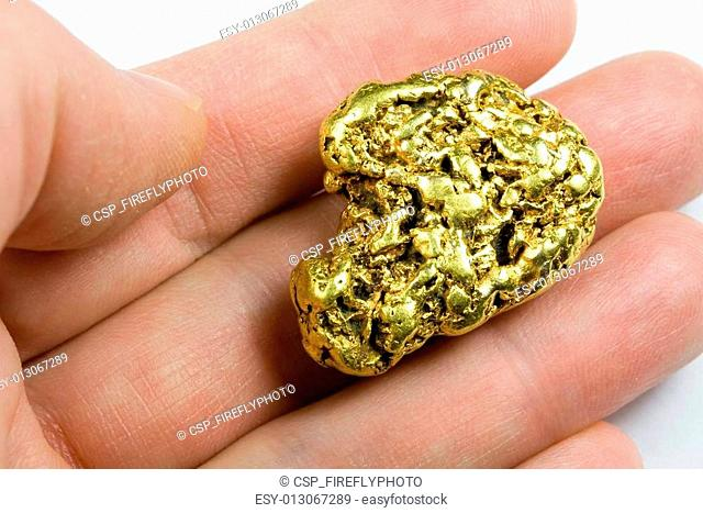 One Ounce California Gold Nugget