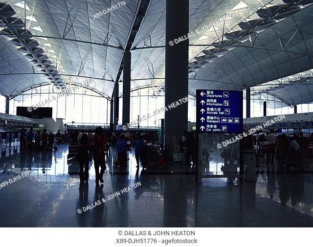 Asia, China, Hong Kong, Airport, Chep Lap Kok, Interior