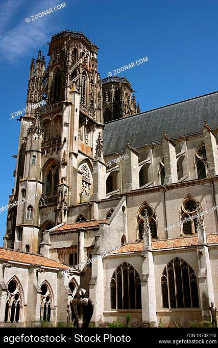 Kathedrale St. Etienne, Toul, Lothringen, Frankreich - Cathedral St. Etienne, Toul, Lorraine, France