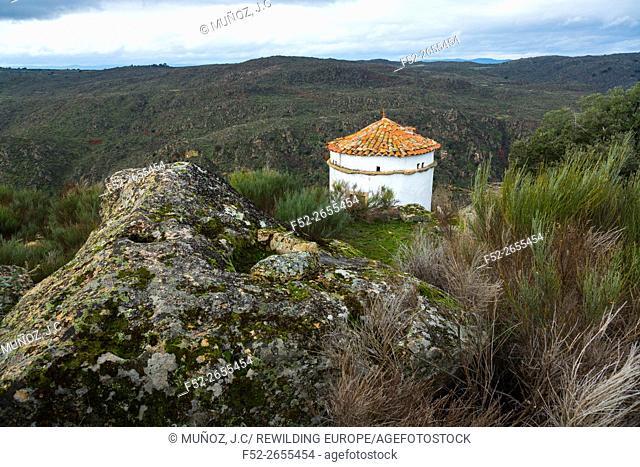 Dovecote, Faia Brava private reserve, Portugal, Europe