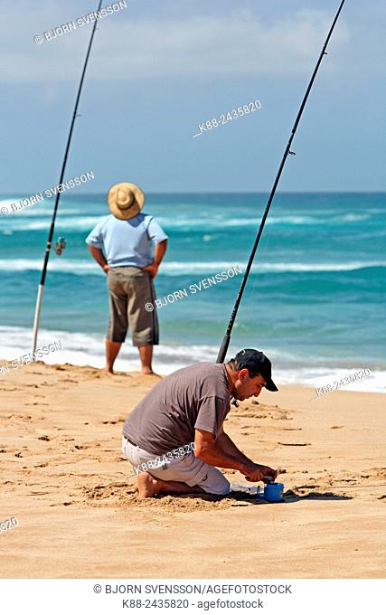 Two people fishing victoria Stock Photos and Images | age fotostock