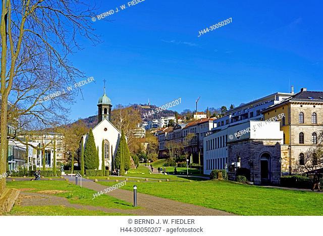 Hospital church, local view, Baden-Baden Germany