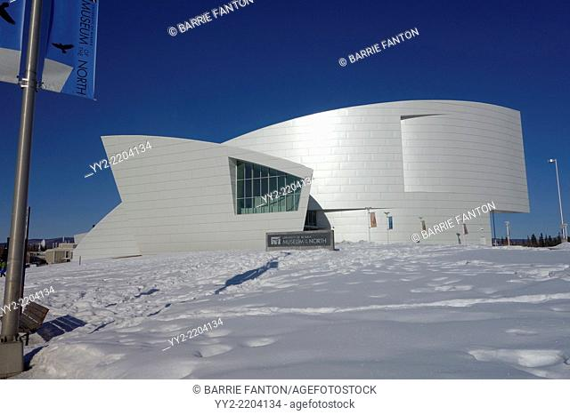 Museum of the North, Fairbanks, Alaska, United States, North America