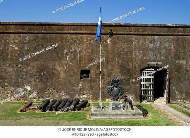 Honduras. Castle of San Fernando de Omoa