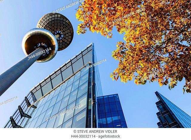 England, London, Southwark, London Bridge City, 4 More London Riverside Office Building