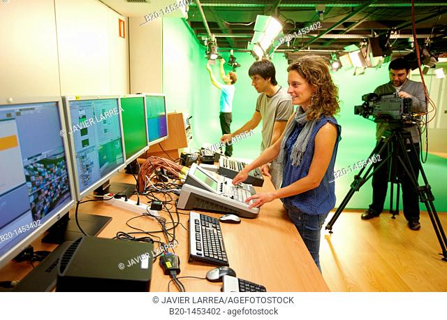 Editing and tests in TV set, digital TV and multimedia services, Vicomtech-IK4 Visual Interaction and Communication Technologies Centre