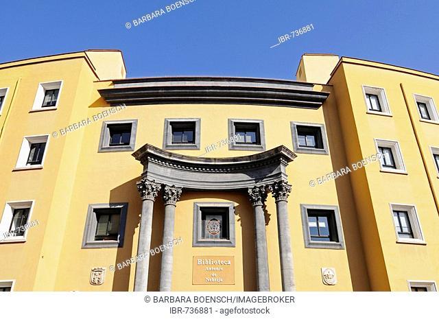 Library, university in Murcia, Spain, Europe