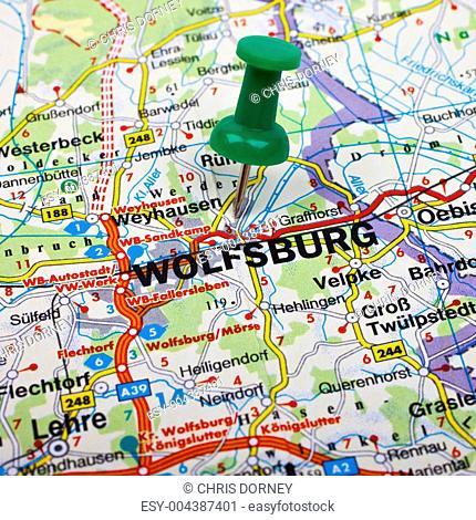 Wolfsburg Map