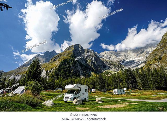 Camping site des Glacieres