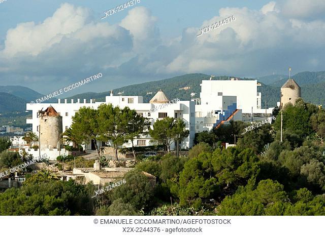 House, Eivissa, Ibiza, Balearic Islands, Spain, Mediterranean, Europe