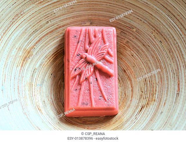 Hand-made soap bar