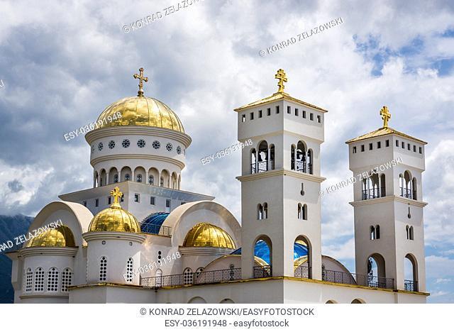 Saint Jovan Vladimir Orthodox temple in Bar coastal town in southern Montenegro