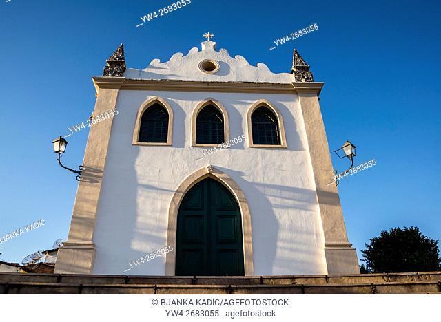 Senhor dos Passos Church, Lençóis, Chapada Diamantina, Bahia, Brazil