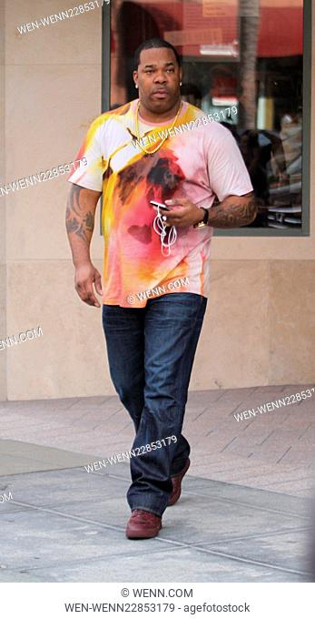 Busta Rhymes leaves the doctors office in Beverly Hills, CA. Featuring: Busta Rhymes Where: Hollywood, California, United States When: 10 Sep 2015 Credit: WENN
