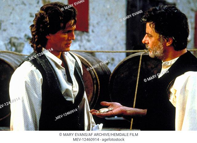 Eric Roberts & Giancarlo Giannini Characters: Marco Collogero, Sebastian Collogero Film: Blood Red (1989) Director: Peter Masterson 18 August 1989