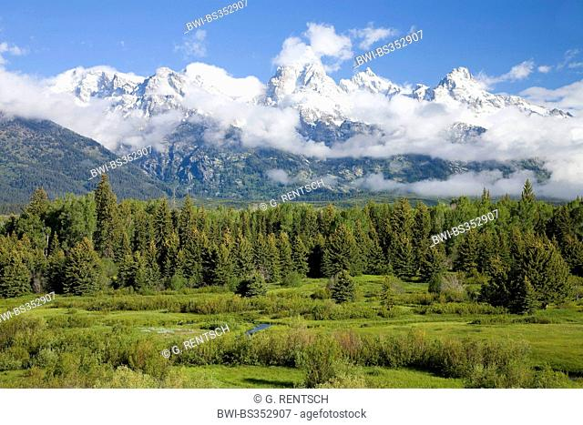 Grand Teton National Park, USA, Wyoming, Grand Teton National Park