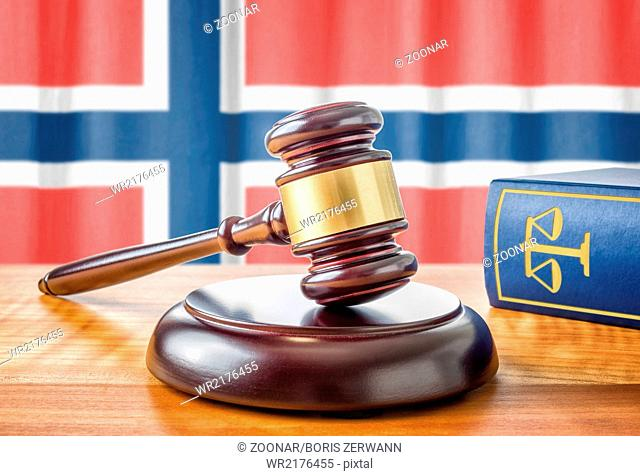 A gavel and a law book - Norway