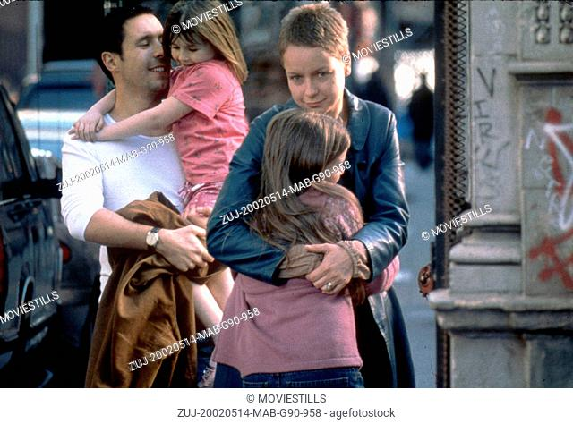 May 14, 2002; London, UK; Actors PADDY CONSIDINE as Johnny, EMMA BOLGER as Ariel, SARAH BOLGER as Christy and SAMANTHA MORTON as Sarah star in the drama/...