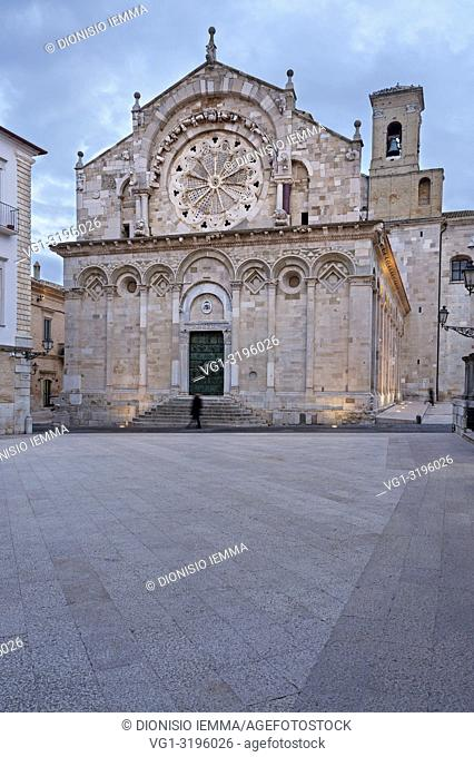 Troia, district of Foggia, Puglia, Apulia, Italy, Europe, Cathedral of the Beata Vergine Maria Assunta