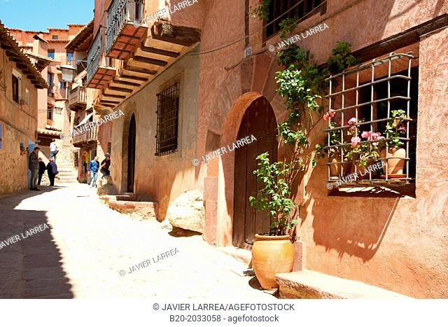 Albarracin. Teruel province. Aragon. Spain