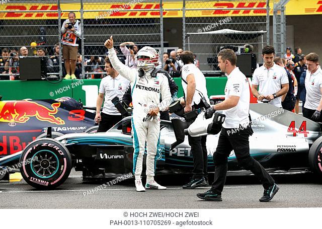Motorsports: FIA Formula One World Championship 2018, Grand Prix of Mexico, .#44 Lewis Hamilton (GBR, Mercedes AMG Petronas Motorsport), 27.10.2018