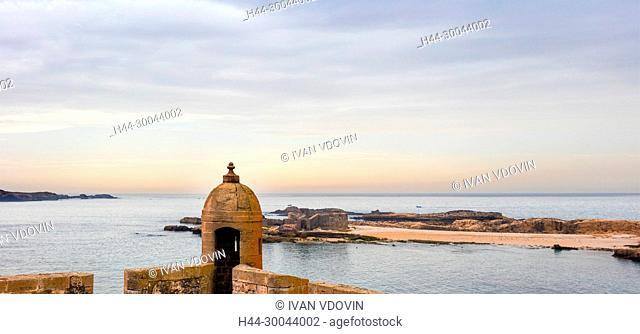 Old fortress, Harbor, Essaouira, Morocco