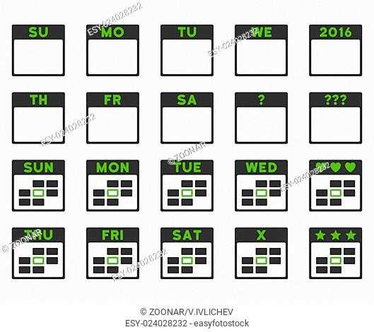 Calendar Days Icon