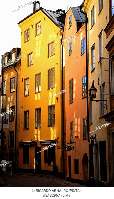 A Street in Old Stockholm