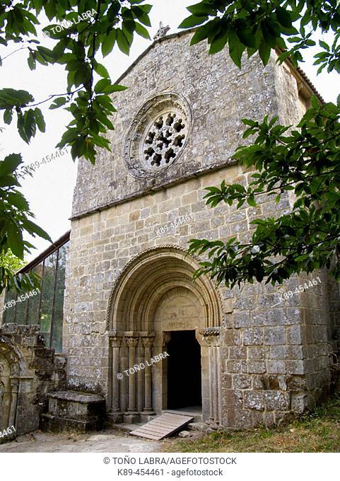 Santa Cristina de Ribas de Sil monastery. Orense province, Galicia, Spain