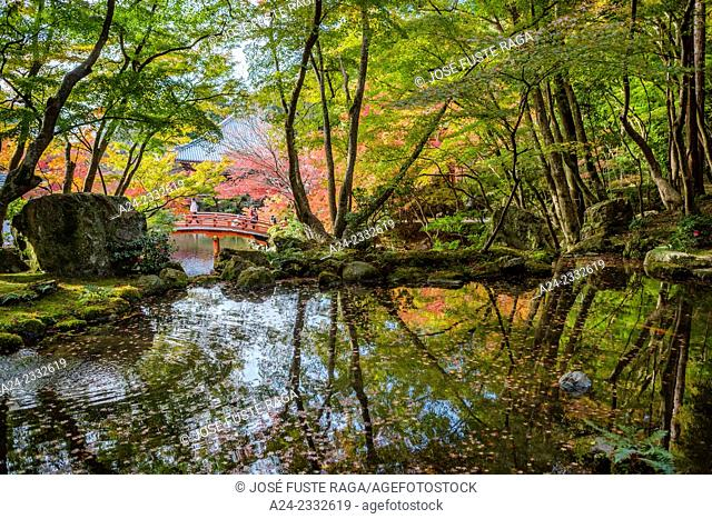 Japan , Kansai, Kyoto City , Daigo-ji Temple , The Garden